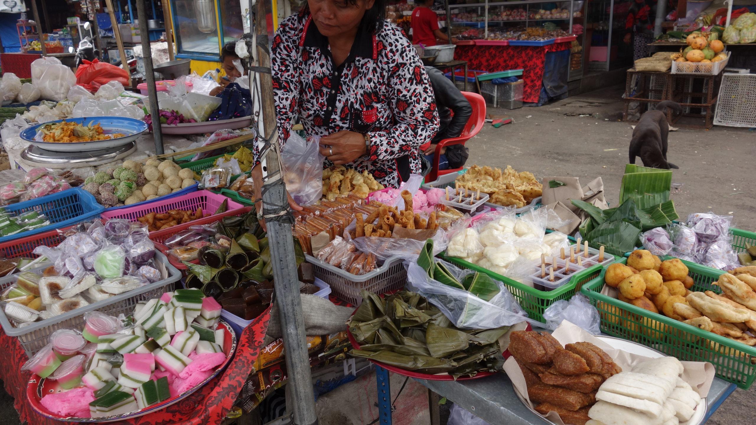 Market w Bedugul