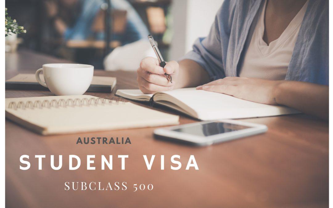 Australia Student Visa (subclass 500) – wszystko co musisz wiedzieć.